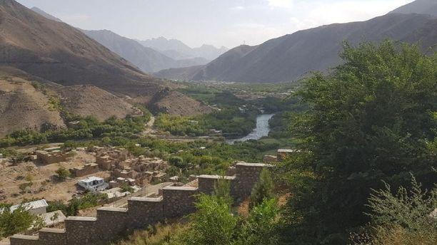 Panjshirin laakso Afganistanissa on ollut viimeinen Talibania vastustaan taisteleva alue.