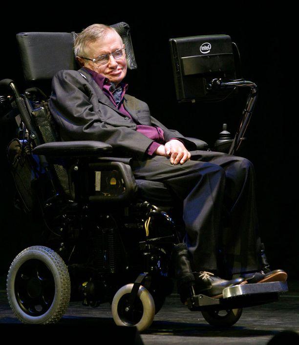 Stephen Hawking on suostunut testihenkilöksi uudelle iBrain-laitteelle, joka lukee ihmisten aivoaaltoja.
