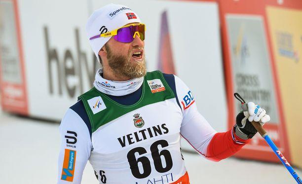 Martin Johnsrud Sundbyn mielestä pertsa ei nyt Norjassa kulje.