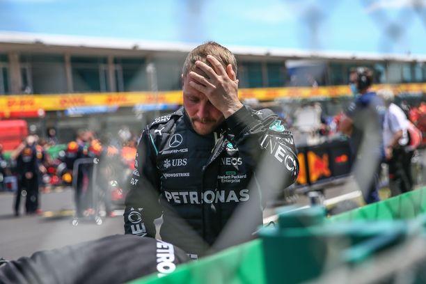 Valtteri Bottas jäi kolmanneksi, vaikka lähti kisaan ensimmäisestä lähtöruudusta.