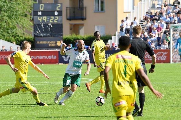 IFK Mariehamnin ja Ilveksen välisen Suomen cupin finaalin tapahtumat nostivat kohun.