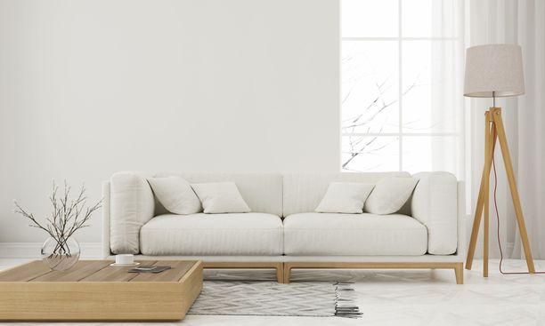 Geometrinen mietitty kokonaisuus on tyypillinen tyylikkäälle skandinaaviselle kodille.
