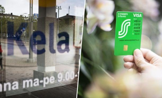 Koko Kelan S-Pankin tileille aiottu maksuaineiston maksaminen viipyi maanantaina.