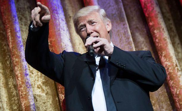 Donald Trump on järjestyksessään Yhdysvaltain 45. presidentti.