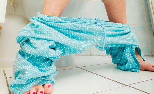 Jos vessassa tulee yhtäkkiä rampattua jatkuvasti, jotain on luultavasti pielessä.