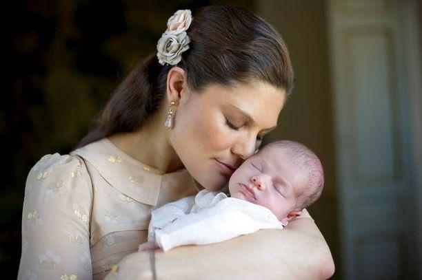 Kruununprinsessa Victorialle lapsen syntymä oli unelman täyttymys.