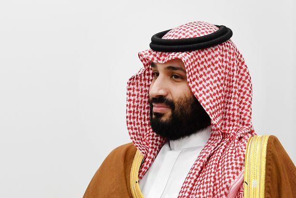 Muhammed bin Salman, 34, nimitettiin kruununprinssiksi vuonna 2017.