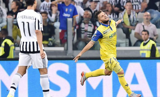 Perparim Hetemaj osui viime kaudella Juventusta vastaan.
