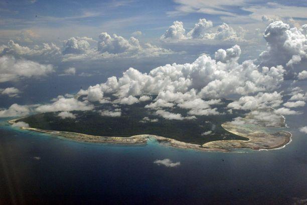 Pohjois-Sentinelin saari ilmakuvassa marraskuussa 2005.