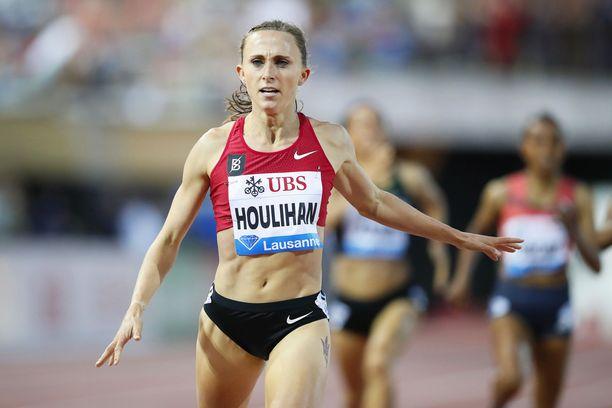 Shelby Houlihania ei nähdä olympialaisissa.