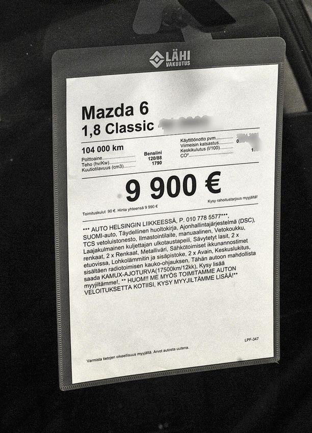 Käytettyjen autojen ovat kiinnostuneimpia hintaluokasta alle 10 000 euroa.