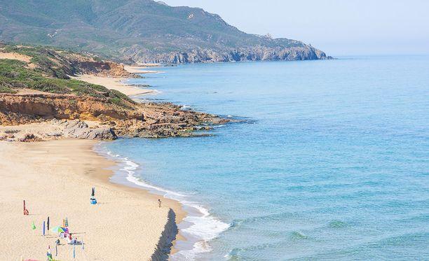 Sardinia on kuulu upeista rannoistaan.