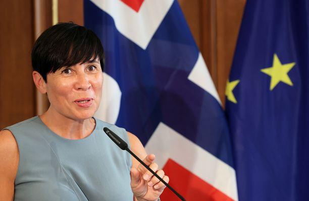 Norjan ulkoministeri Ine Eriksen Soreide.