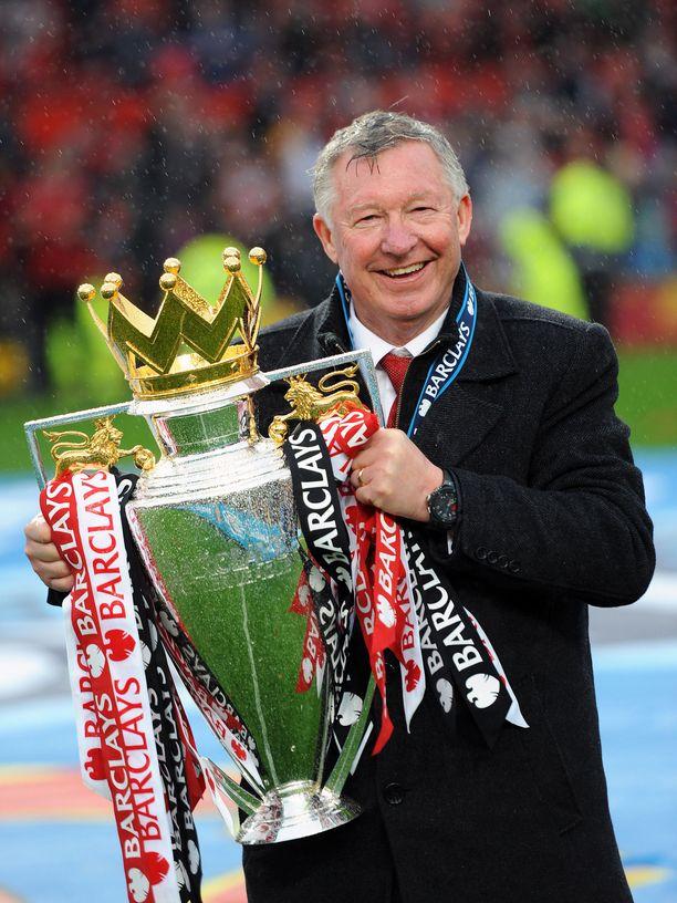 Sir Alex Fergusonin aika Manchester Unitedissa päättyi Valioliigan voittoon keväällä 2013.