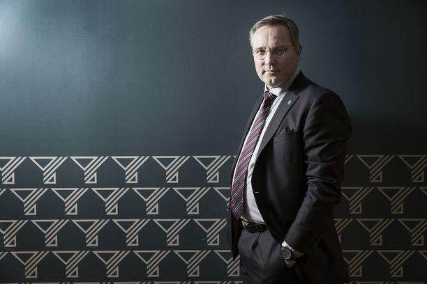 Suomen Yrittäjien toimitusjohtaja Mikael Pentikäinen sanoo kokouksessa opituista asioista olleen hyötyä lehtityössä.