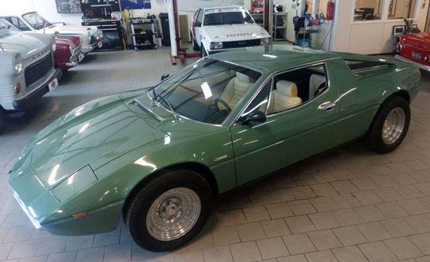 Maserati Merak 3000 -autoja valmistettiin vain 781 kappaletta.