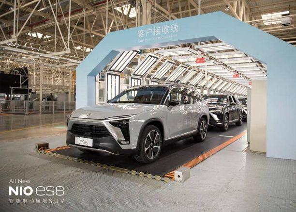 Eurooppaan. Kiinalainen Nio haluaa jalansijaa kansainvälisen autoteollisuuden sydänmailta.
