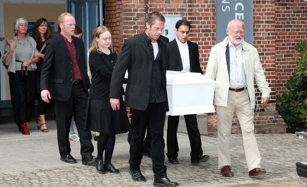 Jakob Ejersbon hautajaiset olivat heinäkuussa vuonna 2008.