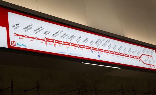 Länsimetron hallinnan odotettiin siirtyvän alkuviikosta HKL:lle.