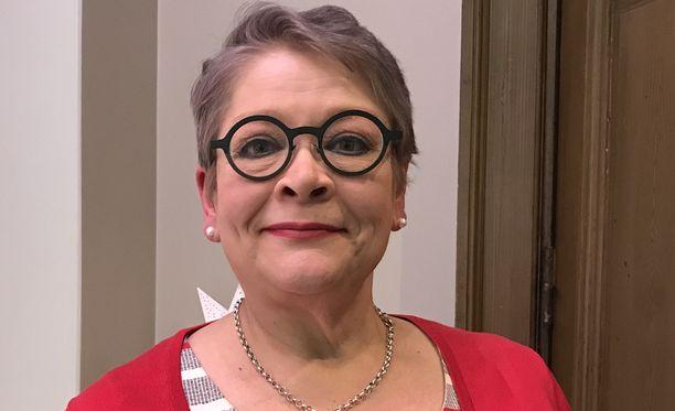 Pamin puheenjohtaja Ann Selin.