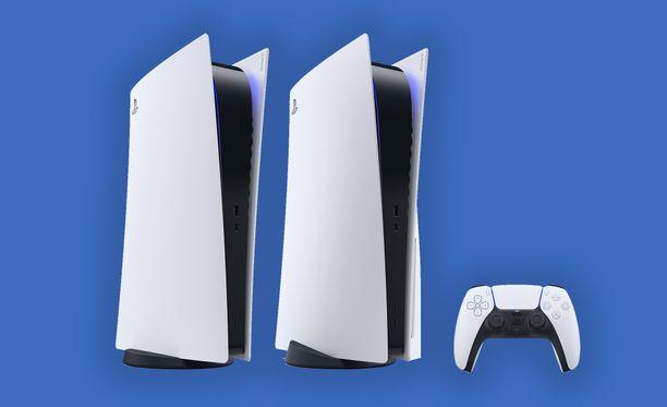 Playstation 5 -konsoli saapuu joulumarkkinoille.