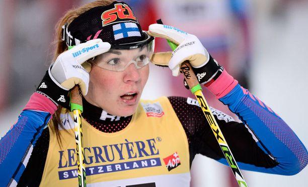 Mona-Liisa Nousiainen pettyi Drammenissa.