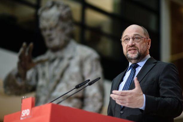Saksan sosiaalidemokraattien johtaja Martin Schulz haluaa luoda EU:sta USA:n kaltaisen liittovaltion.
