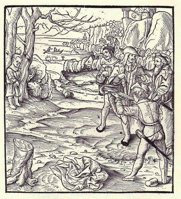 Wilhelm Tell ampui erehtymättömästi omenan poikansa pään päältä varsijousella.