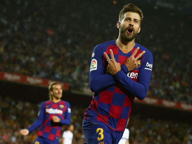 Gerard Piqué on pelaajien puhemies taistossa seuran johtokuntaa vastaan.