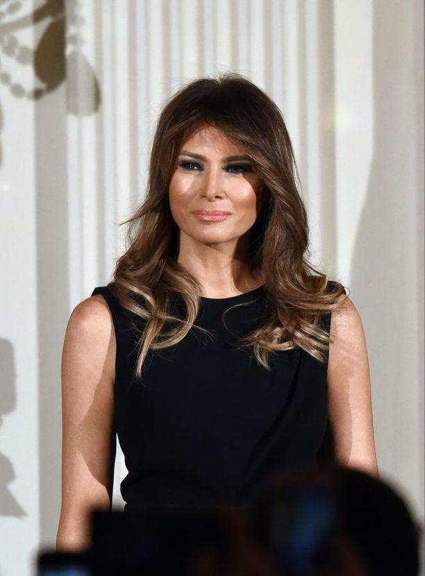 Melania Trump, 47, on Yhdysvaltain ensimmäisenä naisena pysynyt lähinnä miehensä rinnalla.