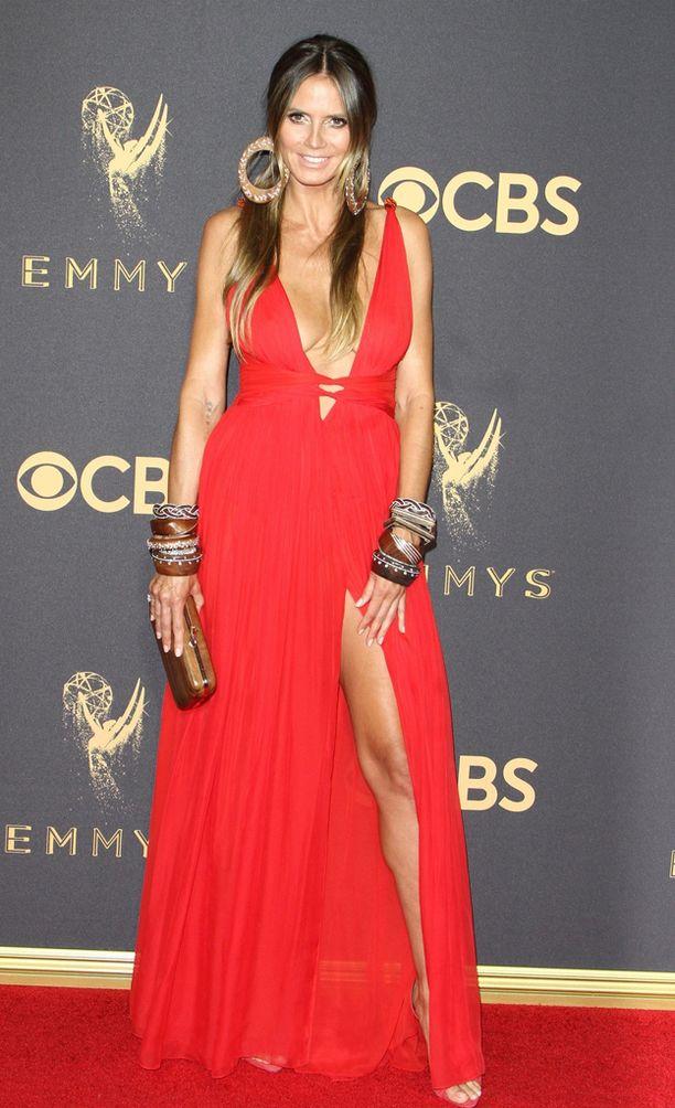 Heidi Klum ei arkaillut punaisella matolla.