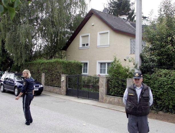 Tältä näyttää Wienissä sijaitseva talo, jossa Kampusch oli siepattuna.