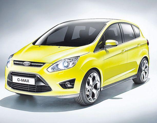 EDESTÄ Keula edustaa tuttua Fordin ovaalimuotoa.