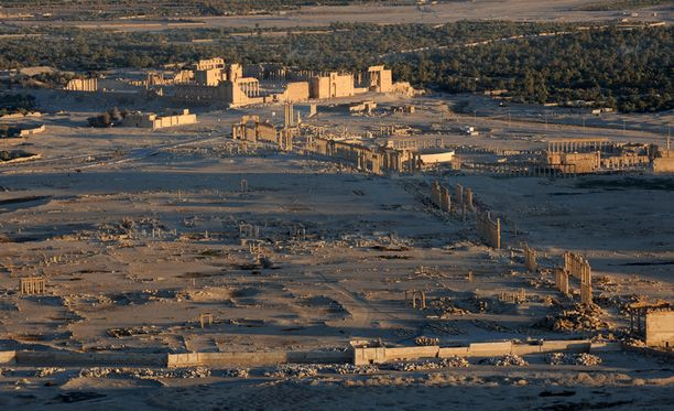 Isis valtasi Palmyran alueen toukokuussa Syyrian hallituksen joukoilta.