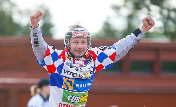 Mikko Vainionpää oli tänään iskussa.