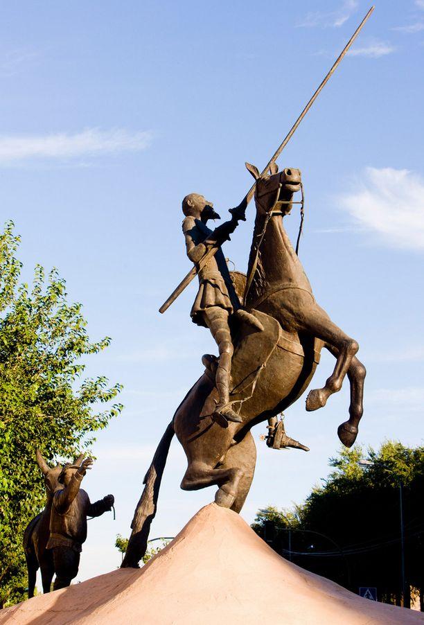 """Matti Putkosella on kertomansa mukaan """"Don Quijote -olotila""""."""