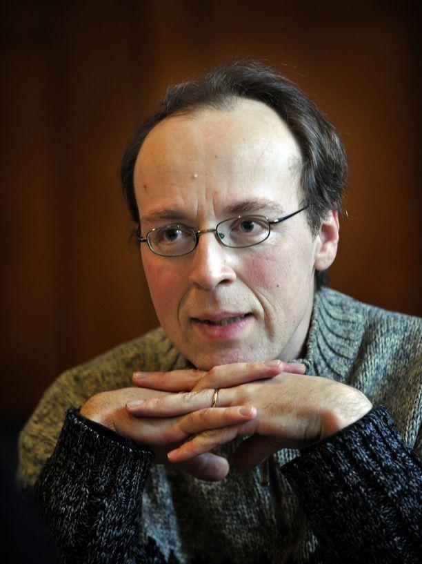 Jussi Halla-aho Iltalehden haastattelussa vuonna 2009.