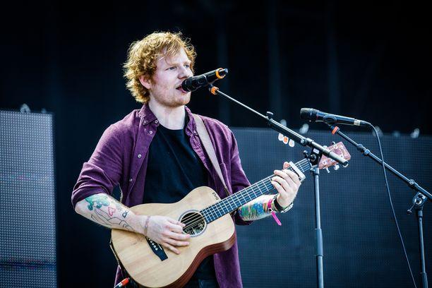 Ed Sheeran on yksi tämän hetken suosituimmista artisteista.
