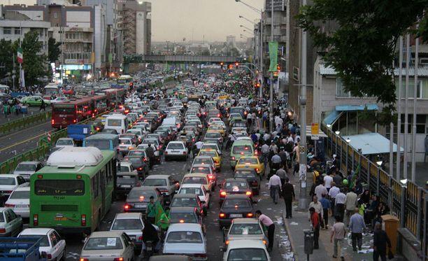 Ulkoasiainvaliokunta vierailee parhaillaan Iranissa.