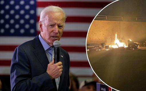 """Näin USA:n iskuun on reagoitu – Joe Biden: """"Trump heitti juuri dynamiitin ruutitynnyriin"""""""