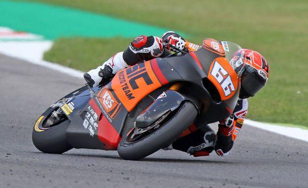 Niki Tuulin Moto2-viikonloppu Hollannin Assenissa päättyi lyhyeen.