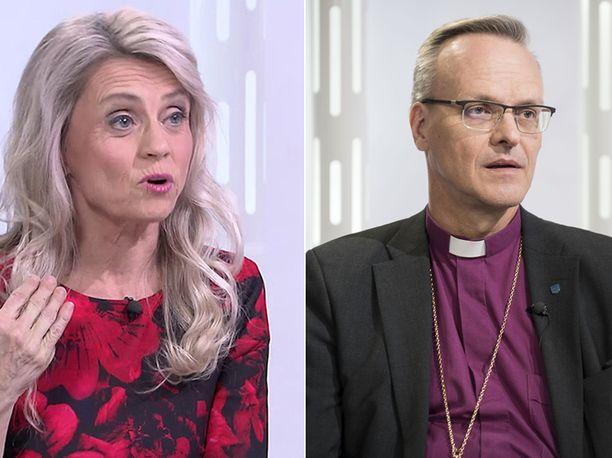 Kristillisdemokraatti Päivi Räsänen ja Suomen evankelis-luterilaisen kirkon arkkipiispa Tapio Luoma ovat olleet eräänlaisessa kirjeenvaihdossa Priden tiimoilta.