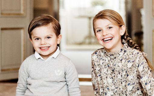 Prinsessa Estelle, 8, sulattaa sydämiä hovin pääsiäistervehdyksessä - koskettava kohtaaminen mummon ja papan kanssa