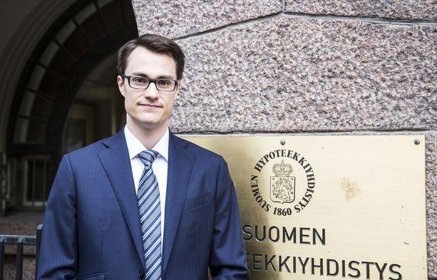 Hypon pääekonomisti Juhana Brotherus.