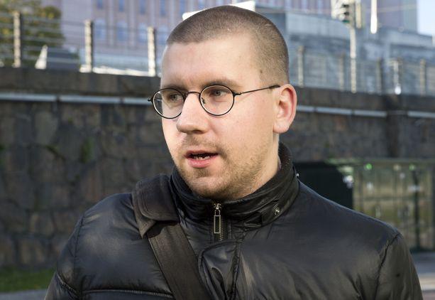 Sebastian Tynkkynen valittiin eduskuntaan huhtikuun vaaleissa. Arkistokuva.