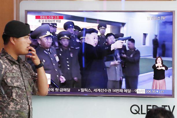 Pohjois-Korea ja Yhdysvallat ovat vaarassa ajautua sotaan.