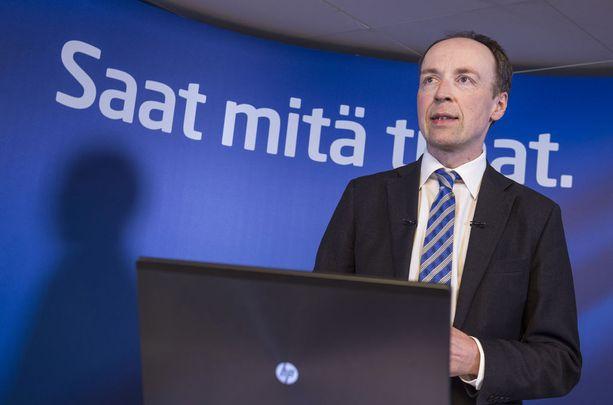 Europarlamentaarikko Jussi Halla-ahon (ps) mukaan perhe-etuudet eivät välttämättä vaikuta syntyvyyden nousuun. Arkistokuva.