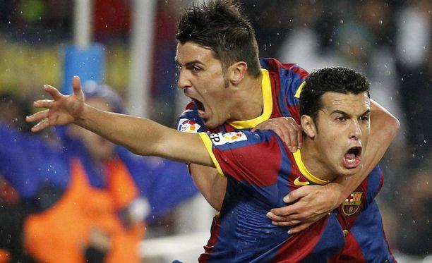 Barcelona saapui Pamplonaan noin kello 20 paikallista aikaa.