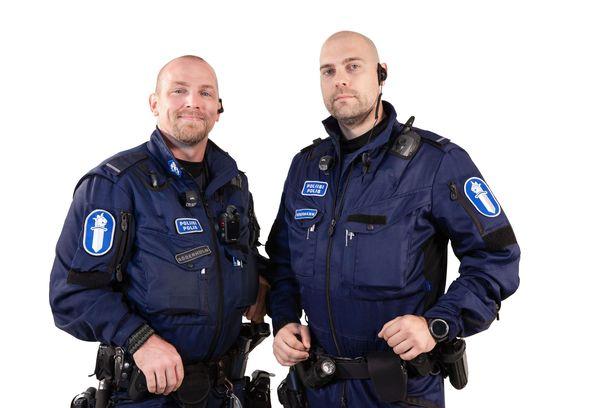 Sebastian Söderholm ja Anders Södermann ovat tehokas työpari.