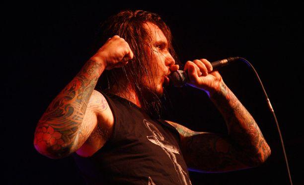 Tim Lambesisin As I Lay Dying on konsertoinut myös Suomessa.